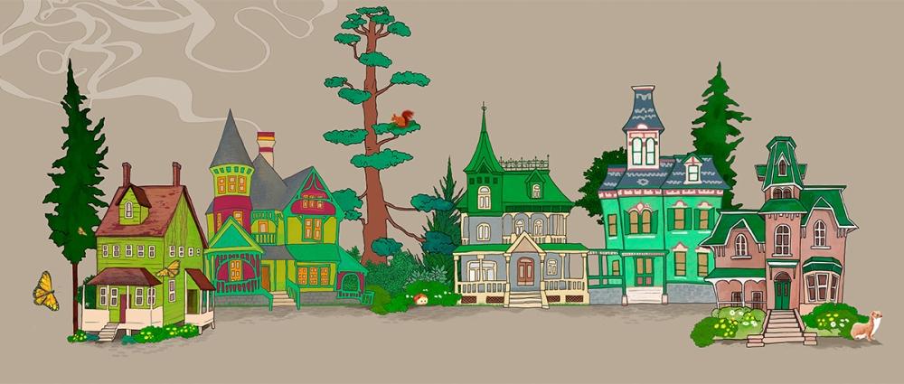 sweet home -pueblo montaña